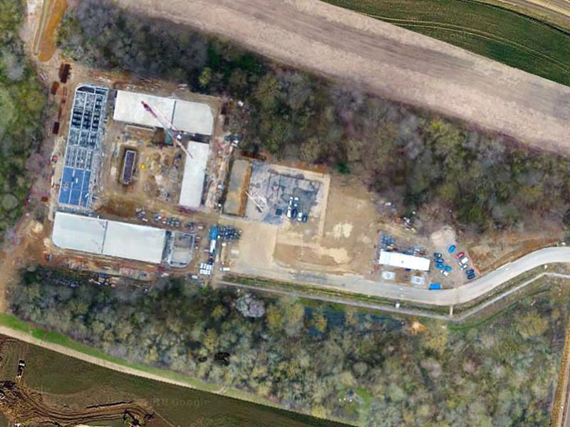 Suivi de chantier par drone