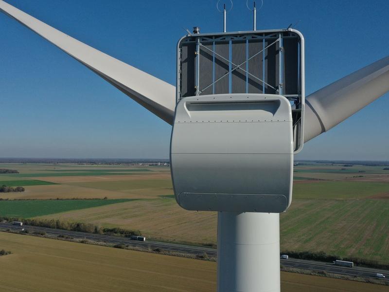 Inspection d'éolienne