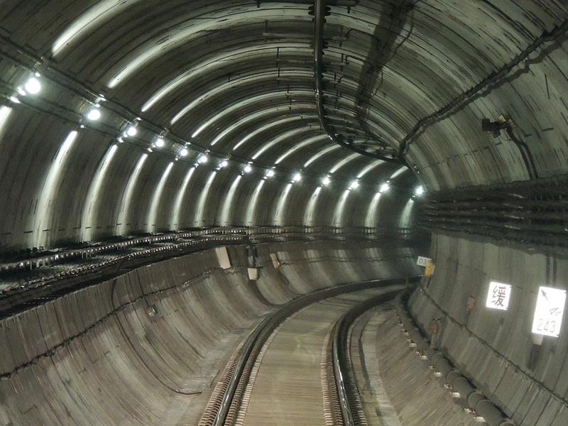 Inspection en tunnel