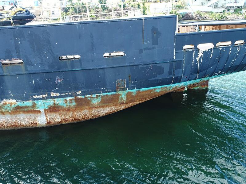Inspection de bateau