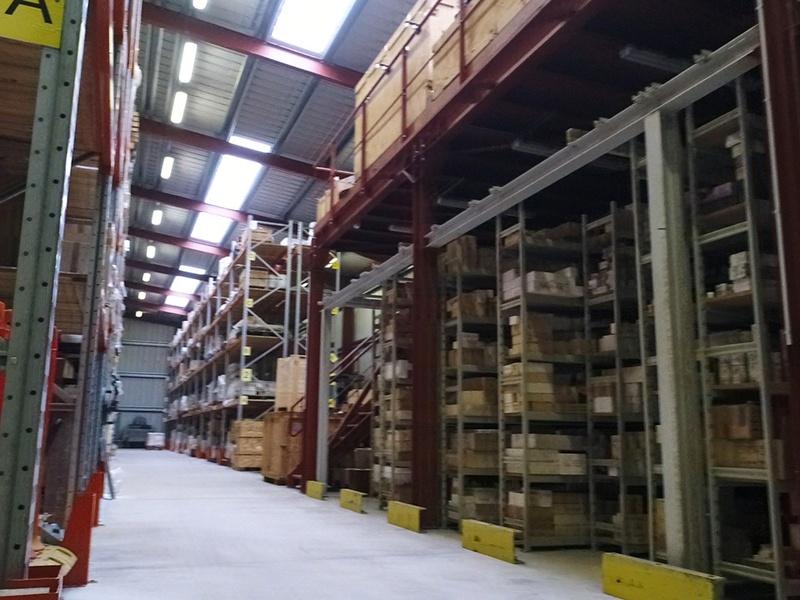 Inspection des entrepôts